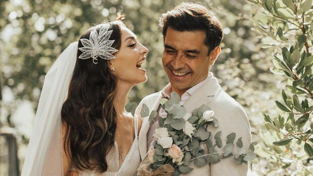 Cansel Elçin ve Zeynep Tuğçe Bayat'ın nikahından muhteşem fotoğraflar!