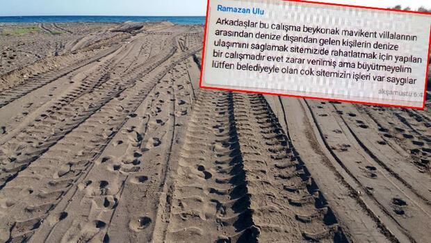 Antalya'da skandal görüntü! 'Belediyeyle olan sitemizin çok işleri var, büyütmeyelim'