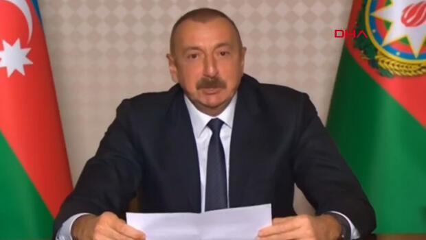 Son dakika: Azerbaycan ordusu ilerliyor! Cumhurbaşkanı Aliyev'den önemli açıklamalar