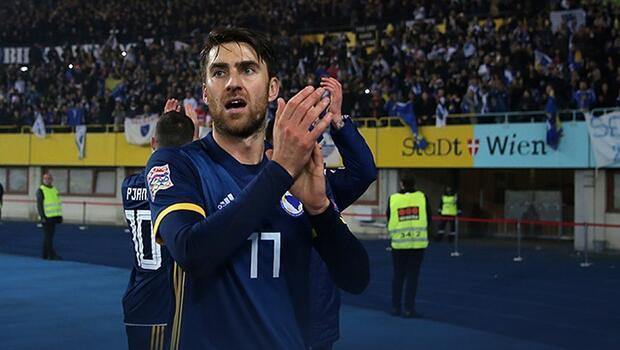 Ervin Zukanovic, Bosna Hersek Milli Takımı'na veda etti!
