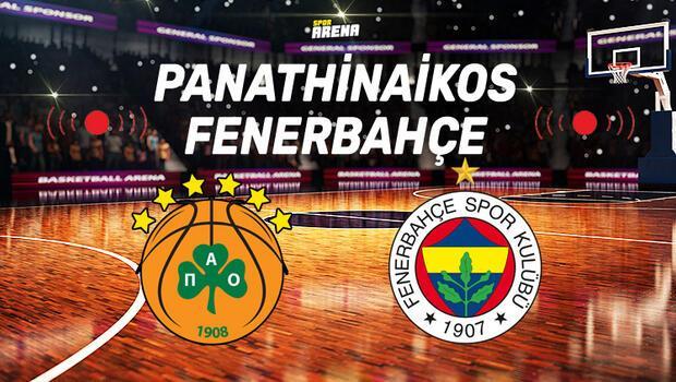 Panathinaikos Fenerbahçe maçı saat kaçta, hangi kanalda, şifreli mi?