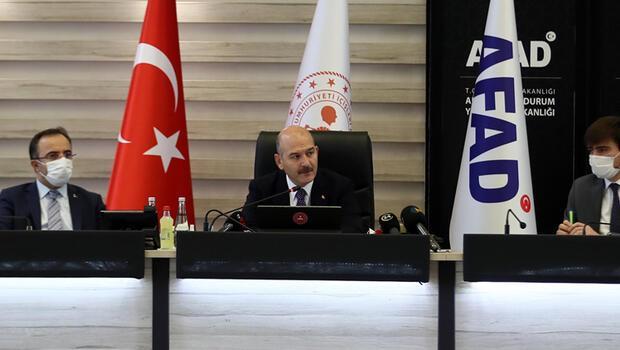Son dakika haberler: İçişleri Bakanı Süleyman Soylu: 2021 yılını 'Afet Eğitim Yılı' ilan edeceğiz