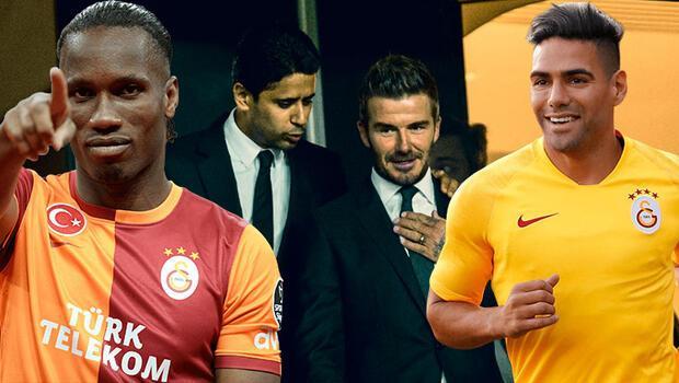 Son Dakika   Galatasaray'da Başkan Mustafa Cengiz'in kriz yaratan açıklamalarından sonra bomba! Radamel Falcao ve David Beckham...