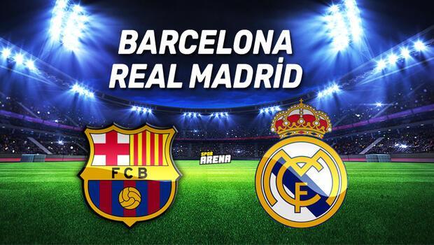 Barcelona Real Madrid maçı saat kaçta, hangi kanalda, şifresiz mi? İşte El Clasico önce dikkat çeken istatistikler