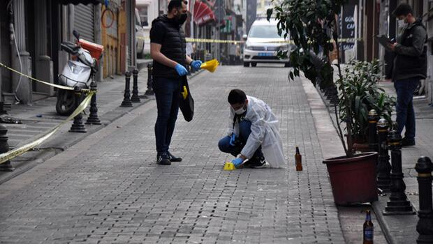 Son dakika... Kadıköy'de o anları Rambo Okan çekti: Silah sesleri duydum çat çat çat...