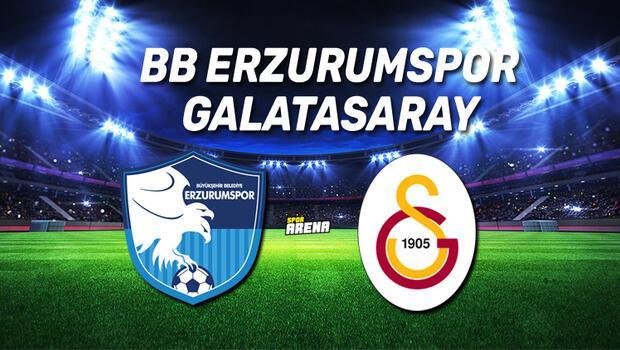 BB Erzurumspor Galatasaray maçı saat kaçta, hangi kanaldan canlı yayınlanacak?