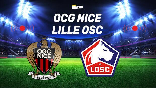 Canlı   Nice - Lille maçı