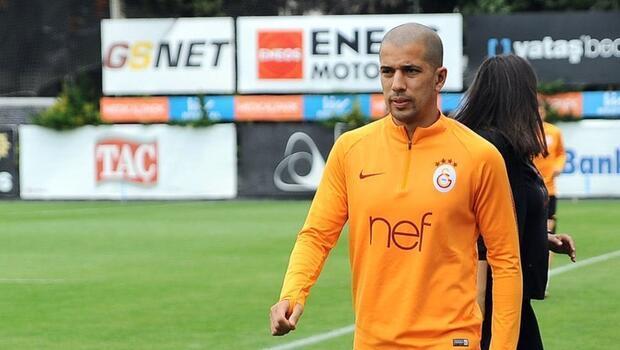 Son Dakika   Galatasaray'da Sofiane Feghouli takımla çalışmaya başladı