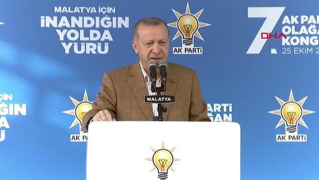 Son dakika… Cumhurbaşkanı Erdoğan'dan Malatya'da önemli açıklamalar