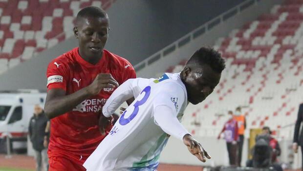 Sivasspor 0-2 Çaykur Rizespor (Maç sonucu ve özeti)