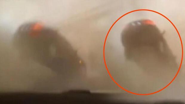 Son dakika haberler... Hatay İskenderun'da inanılmaz görüntüler... Hortum çıktı, otomobil havaya yükseldi!
