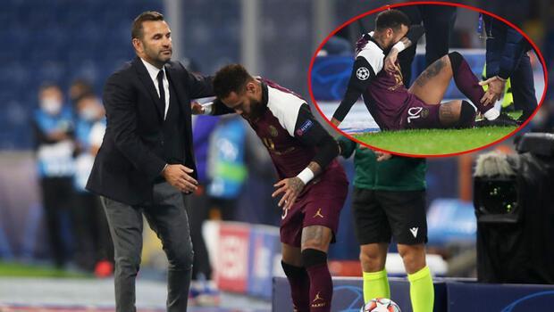 Son Dakika   Başakşehir PSG maçına damga vuran an! Neymar gözyaşlarını tutamadı...