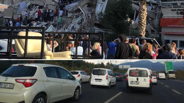 İzmir'de Kızılay kan merkezi yıkıldı! Vatandaşlar yollara düştü...