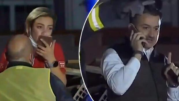 Son dakika: İzmir'deki 6.6 büyüklüğündeki depremde son dakika gelişmesi: Enkaz altındakilere telefonla ulaşma çabası