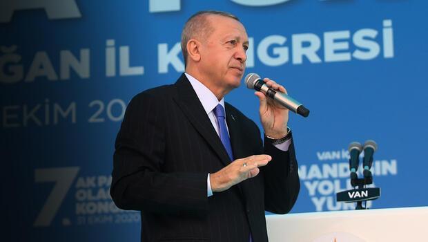 Son dakika... Cumhurbaşkanı Erdoğan'dan Van'da önemli açıklamalar