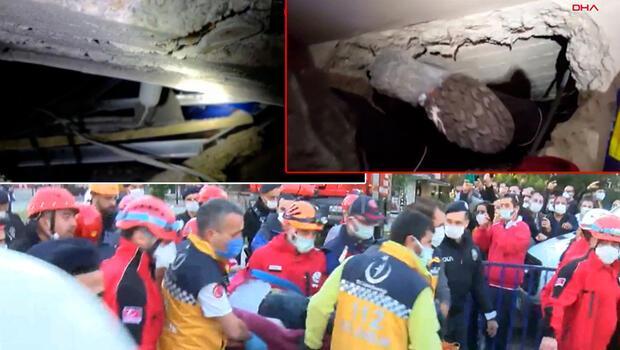 Son dakika haberler: İzmir'deki depremde Halim Sarı 26 saat sonra yaralı olarak kurtarıldı