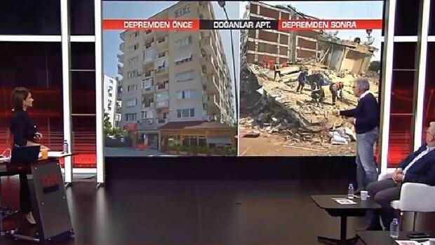 """Prof. Dr. Sucuoğlu depremde yıkılan binaya ilişkin ayrıntıları aktardı: """"Bir bina böyle yıkılmaz, anca bombalarsanız bu hale gelir"""""""
