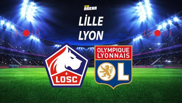 Canlı | Lille Lyon maçı (Burak Yılmaz ve Zeki Çelik 11'de)