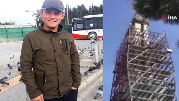 Acı olay! Depremde inşaatın 18. katından düşerek hayatını kaybetti