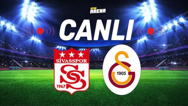 Canlı Anlatım İzle | Sivasspor Galatasaray maçı
