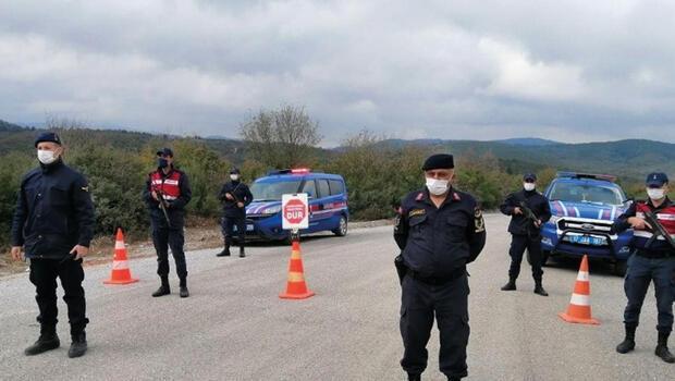 Çanakkale'de 7 köy koronavirüs nedeniyle karantinaya alındı