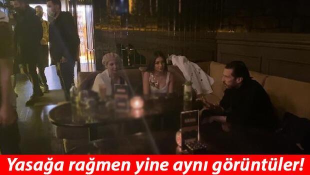 İstanbul'da otelin terasındaki kafeye baskın! Yasağa rağmen...