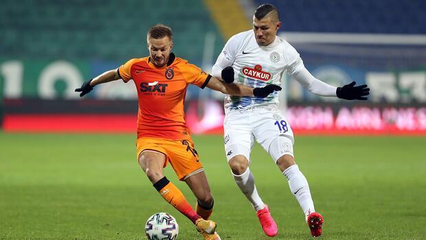 Rizespor-Galatasaray maçından en özel fotoğraflar!