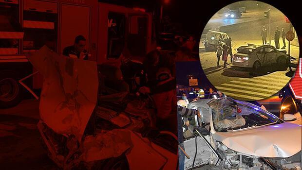 Antalya'da can pazarı... Feci kaza: 3 ölü, 4 yaralı