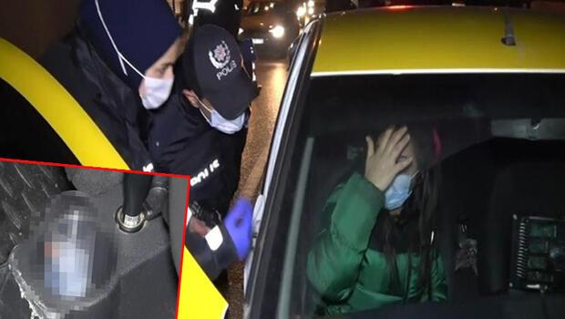 Bursa'da şoke eden olay! Takside alkol alırken yakalandı, inmemek için direndi