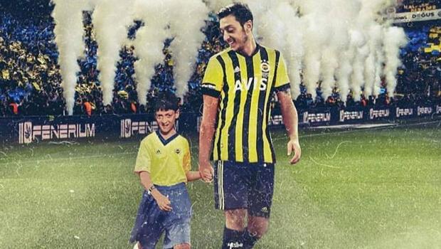 Mesut Özil'den bir Fenerbahçe paylaşımı daha! Çocukluğu...