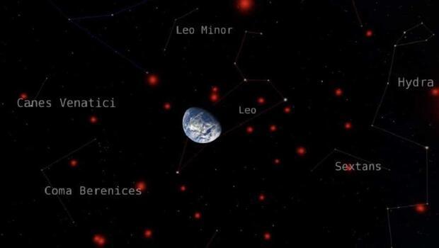 Sönmüş yıldızların üç boyutlu haritası oluşturuldu