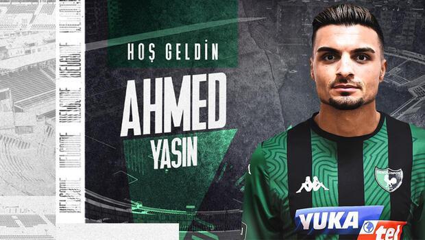Iraklı orta saha Ahmed Yasin Yukatel Denizlispor'da