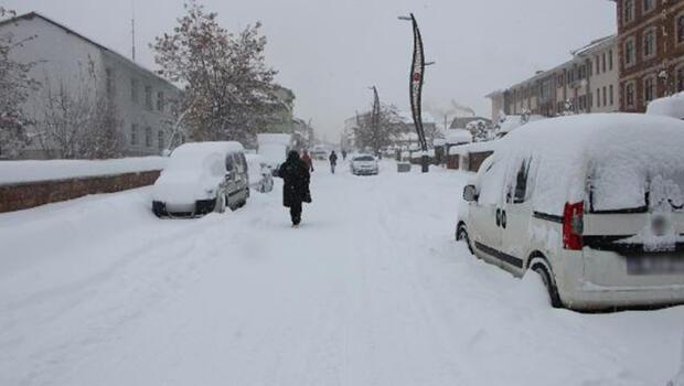 Karlıova'da 30 köy yolu, ulaşıma kapandı