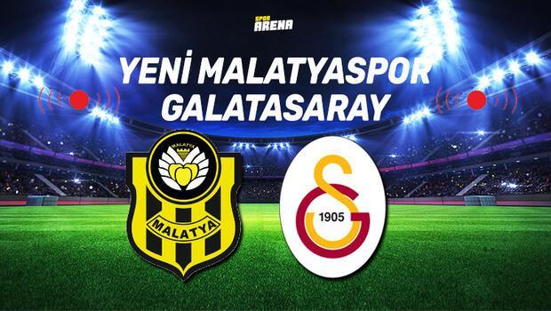 Canlı İzle | Yeni Malatyaspor Galatasaray maçı