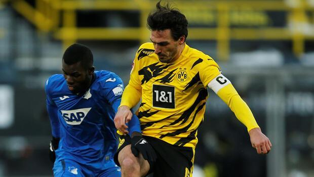 Borussia Dortmund sahasında Hoffenheim ile 2-2 berabere kaldı