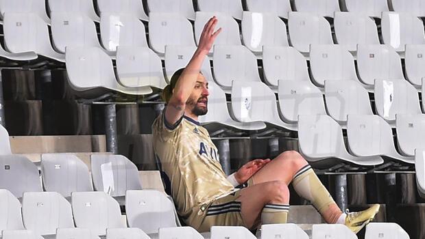 Fenerbahçe'de Caner Erkin'den şok tepki
