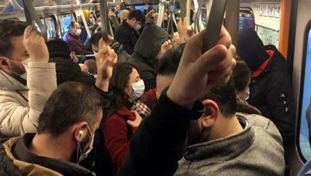 İstanbul'da mesai saatleri değişti... Toplu taşıma araçlarında yoğunluk yaşandı