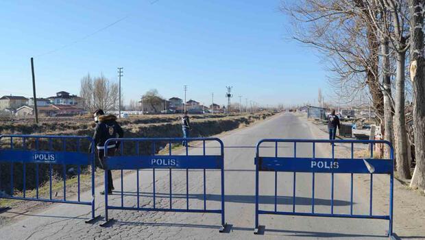 Aksaray'da 1 mahalle, 1 cadde ve 7 sokak, karantinaya alındı