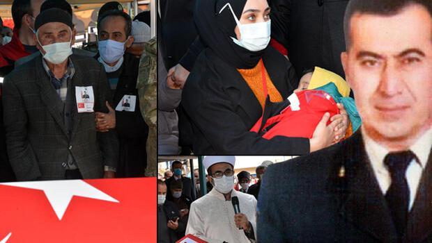 Düşen helikopterde şehit olan Mehmet Demir son yolculuğuna uğurlandı