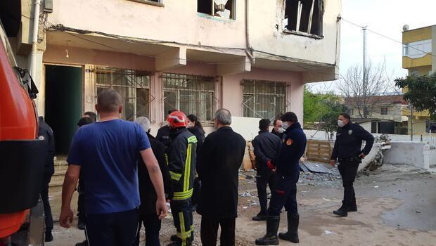 Evinde çıkan yangında yanarak hayatını kaybetti
