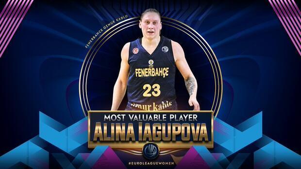 Kadınlar Avrupa Ligi'nde sezonun MVP'si Fenerbahçeli Iagupova