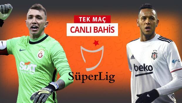 Derbinin iddaa'da favorisi Galatasaray! Beşiktaş'a oynayanların yüzdesi ise…