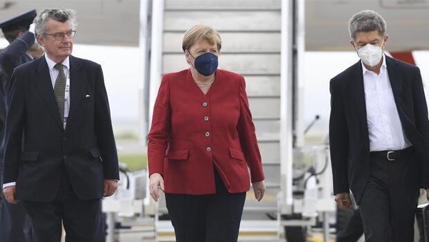 Biden, 15 Temmuz'da Merkel'i Beyaz Saray'da ağırlayacak