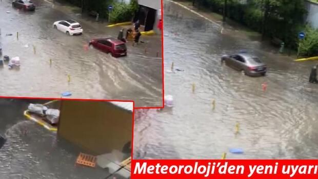 Son dakika... İstanbul'da gök gürültülü sağanak yağmur! Meteoroloji'den yeni uyarı