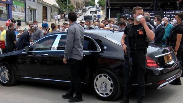 Burhaniye Mahallesi sakinlerinden Cumhurbaşkanı Erdoğan'a teşekkür