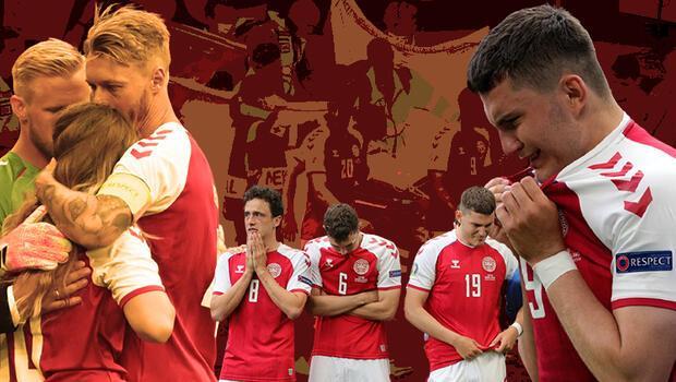 Son Dakika: Danimarka - Finlandiya maçında korku dolu anlar! Christian Eriksen yürekleri ağza getirdi...
