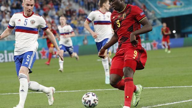 Belçika - Rusya maçında öne çıkan fotoğraflar