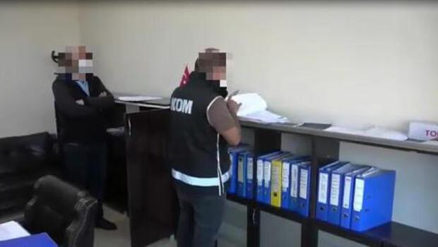 Kamuyu 10 milyon lira zarara uğratan 14 kişi tutuklandı
