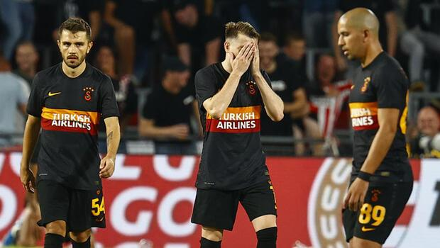 Galatasaray'da kabus gibi tablo! Avrupa'da son 36 maçta...