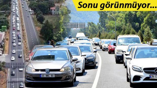 Son dakika: Kurban Bayramı tatili sona eriyor… Antalya-Muğla karayolunda dönüş yoğunluğu: Kuyruk oluştu